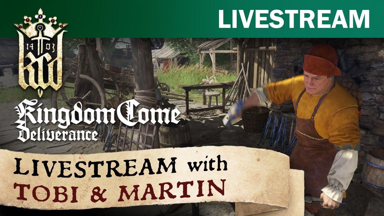 Kingdom Come: Deliverance - Prima Quest con Tobi & Martin (Alpha)