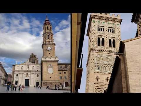 Сарагоса достопримечательности. Видео, описания и отзывы.