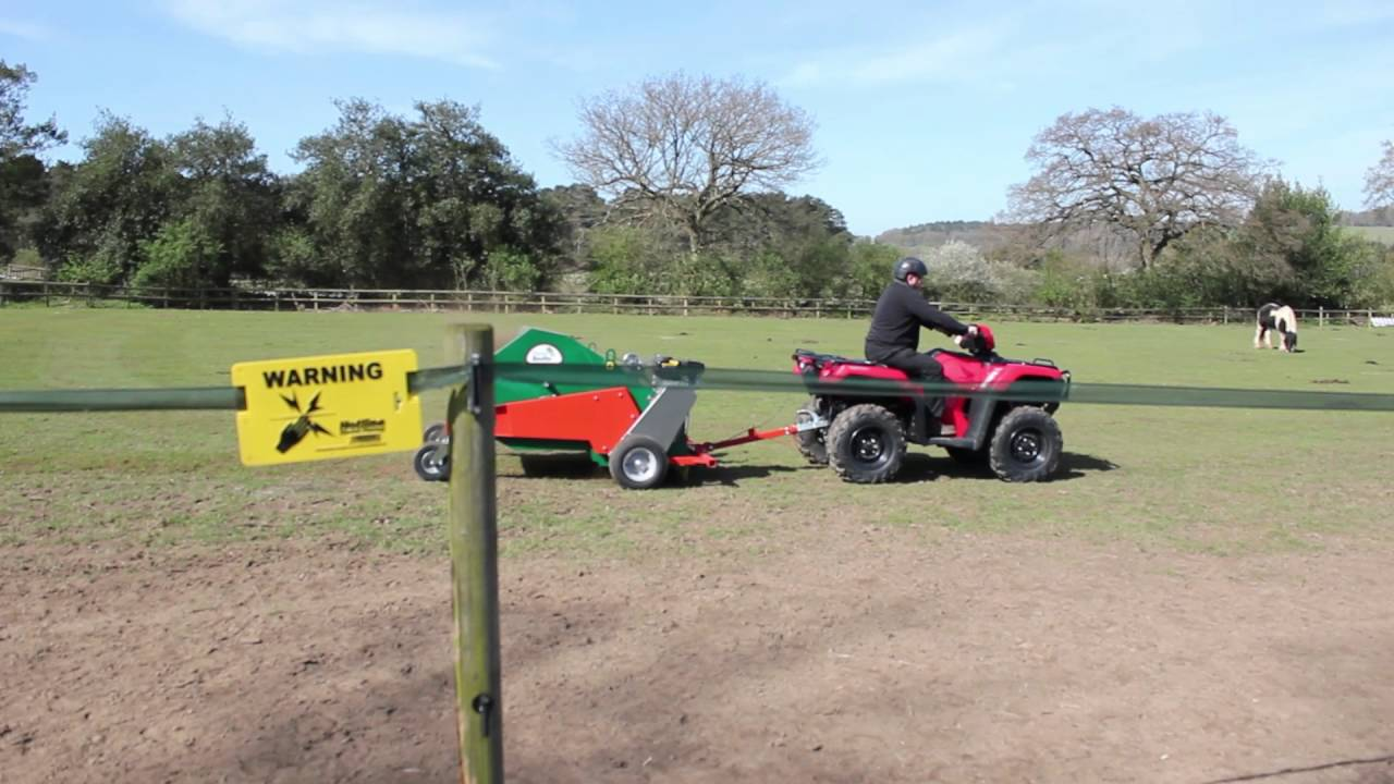 Wessex dung beetle paddock cleaner