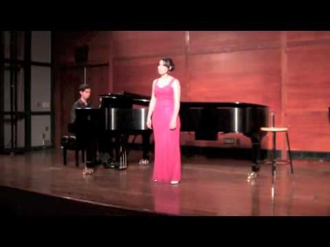This is an Italian artsong I performed in fulfillment of my bachelor's thesis concert.