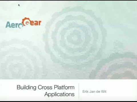 Building Cross Platform Applications with Cordova and AeroGear