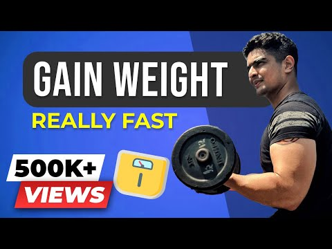 Video How to gain weight FAST, EASY & HEALTHY for GUYS & GIRLS | BeerBiceps