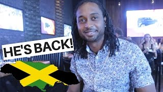 HE'S BACK FROM JAMAICA WITH GIFTS! + MORE HOUSE UPDATES