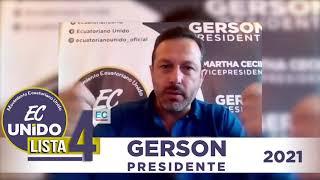 MEDIOS | Entrevista a nuestro candidato presidencial Gerson Almeida en Diario El Comercio
