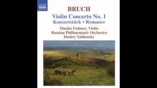 Maxim Fedotov M.BRUCH Violin Concerto No.1 Konzerstuck Romance