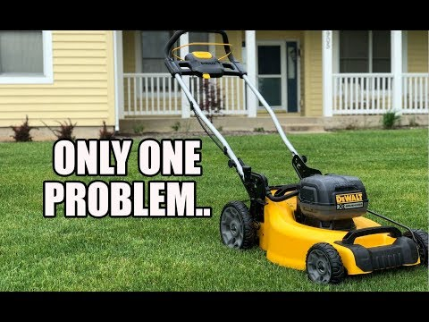 DeWALT 20V 20″ Lithium Ion Lawn Mower Review