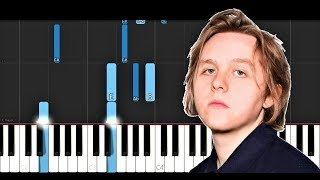 Lewis Capaldi   One (Piano Tutorial)