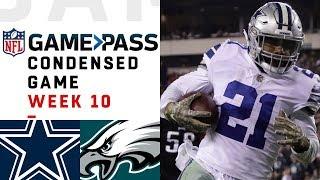 Dallas Cowboys vs. Philadelphia Eagles  | NFL Week 10 Game Pass Condensed Game