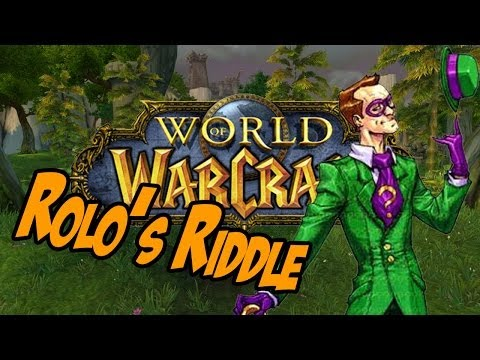 Solving Rolo's Riddle [Achievement] - Timeless Isle Guide - World Of Warcraft: Mists Of Pandaria