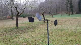 Usage de la girouette pour la chasse à la palombe