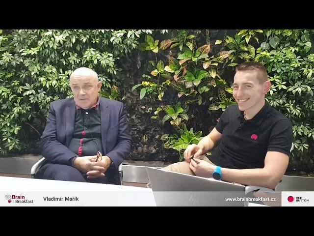 B&B s prof. Vladimírem Maříkem – Otázky, které se do vysílání nevešly