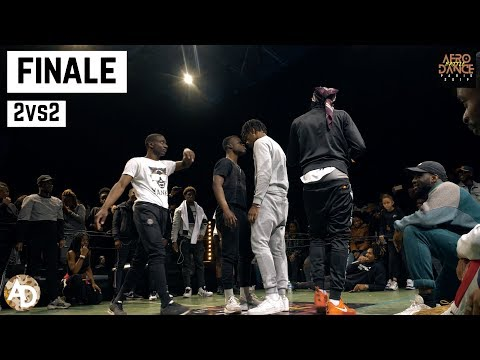Wizlex & Nesh vs. Rocket & H4 – Finale (2vs2) | Afro Dance Battle Paris 2019
