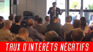 """Georges CASTEL : """"Taux d'intérêts Négatifs : En attendant le Krach Obligataire?"""""""