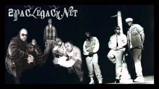 2Pac - Studio Sessions With Live Squad Performing Strugglin (Rare)