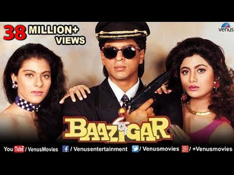 Baazigar - Hindi Movies Full Movie | Shahrukh Khan Movies | Kajol | Shilpa Shetty | Bollywood Movies