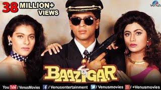 Baazigar  Hindi Movies Full Movie  Shahrukh Khan Movies  Kajol  Shilpa Shetty  Bollywood Movies