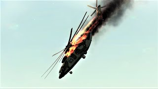 DCS World 1.5 - Helicopter Crashes Compilation #2 1440p
