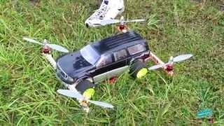 RC Quadcopter Car!