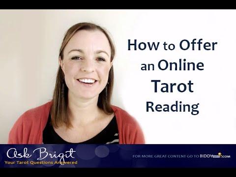 Ask Brigit: How to Offer an Online Tarot Reading