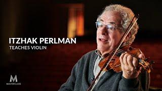 Belajar Biola bersama Itzhak Perlman – Masterclass
