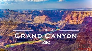 Grand Canyon, USA 🇺🇸 - by drone [4K]