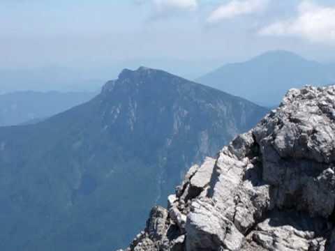 panorama z vrha Ojstrice