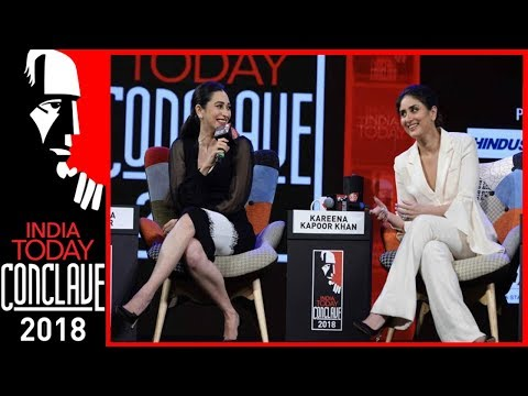 Sridevi, Madhuri Inspired Me To Act: Kareena Kapoor With Sister Karisma | IT Conclave 2018