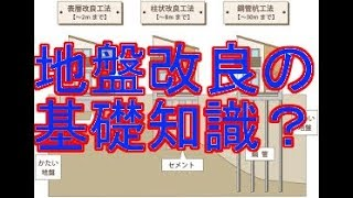 戸建住宅用の地盤改良工事の基礎知識を得ておきましょう
