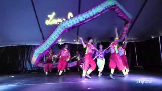 Lunarfest Vancouver 2015 - Jhuo Lan Dragon Dance Team (Taiwan) -The Warrior Dragon ( 台灣卓蘭舞龍隊 )