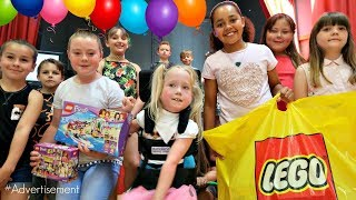 LEGO FRIENDS MISSION!! Tianas Birthday Party Surprise