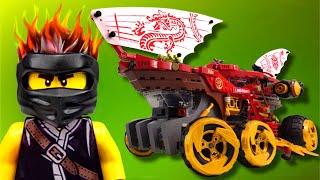 LEGO Ninjago animation Land Bounty