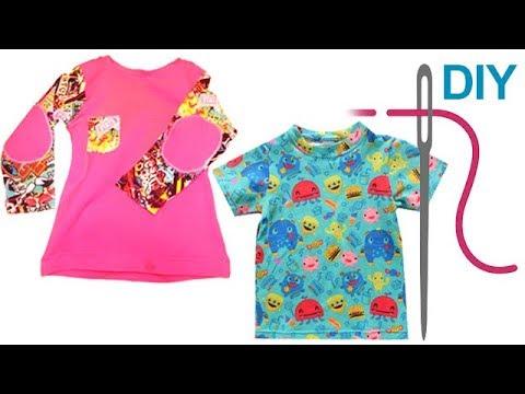 Shirt / T-Shirt nähen für Anfänger – Grundkurs T-Shirt nähen - DIY