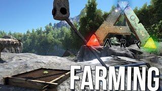 Ark Survival Evolved - Deadly Predators & Farming! - Ark Gameplay Funny Moments
