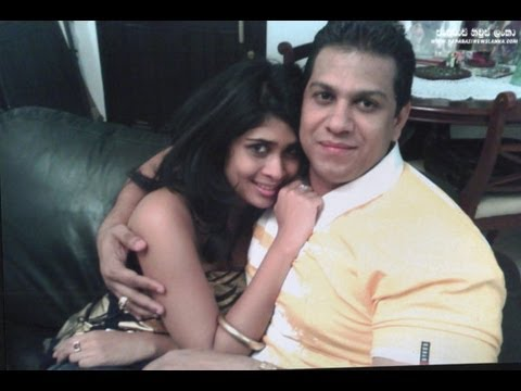 duminda silva with Anarkali