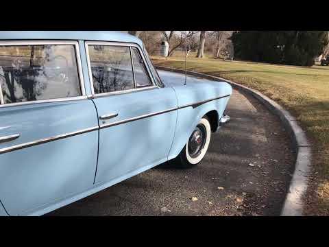 1960 AMC Rambler Wagon. Berts Motors Ontario Oregon