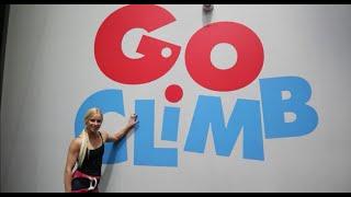 Anna Davey gives Go Climb Coburg a go!