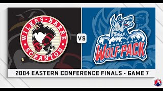 AHL Replay: 2004 Eastern Conference Finals Game 7
