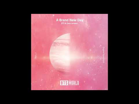 [BTS WORLD] OST Part.2 - A Brand New Day (J-Hope & V - Taehyung - Zara  Larsson)