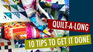 BEGINNER QUILTING QUILTALONG - 10 TIPS FOR YOUR BEST SEW A LONG EVER