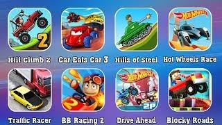 Сборник игры ГОНКИ - Хилл Климб Рейсинг 2, Хищные машины, Драйв Ахед, Хот Вилс, Хилс оф Стил танки