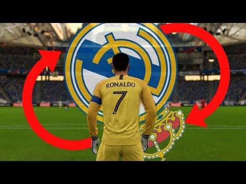 RONALDO V BRÁNĚ A REAL NARUBY! [FIFA 18 EXPERIMENT]