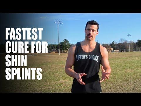 Video Best cure for shin splints (posterior shin splints)