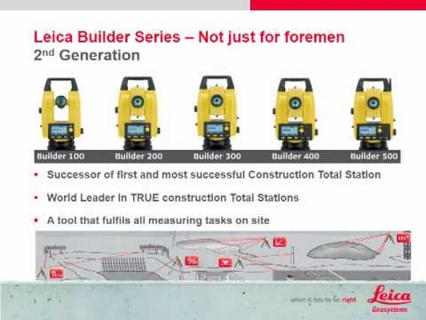 Leica Builder 502 Electronic Total Station