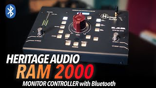 "Chris Selim about the Heritage RAM System 2000 Monitor Controller: ""Quite amazing"""