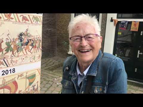 Tapijt van Vlaardingen: Schilderen met draad bij KADE40