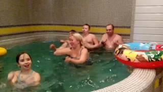 Подготовка к чемпионату по синхронному плаванию