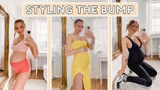 Pregnancy Hacks   My Maternity Clothing & Bump Style ♡