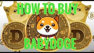 Wo kaufen Sie Baby Dogte Crypto?