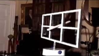 Смотреть онлайн Оптический обман под названием окно Эймса