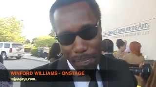 Winford Williams - OnStage- Drop FI Miss Gaza